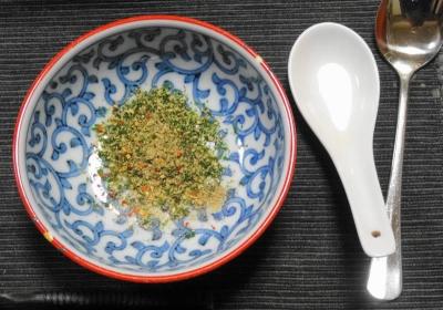 胡麻海苔&七味でスタンバイ