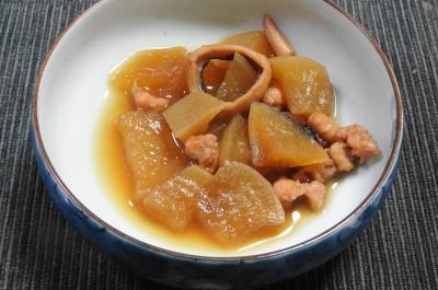 蛸と大根の炊き合わせ(やわらか煮)