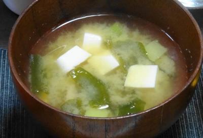 豆腐の味噌汁
