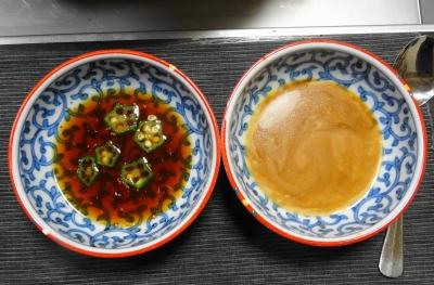 ポン酢&胡麻ダレ