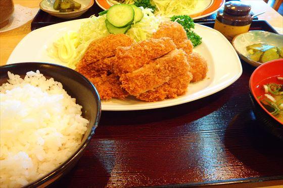 20140608 ④豚ヒレかつ定食(竹)inとんかつ和幸ビックハウス店_R