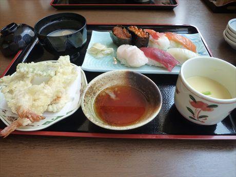 20140313 ③鮨天ぷらセットin余市たけや_R