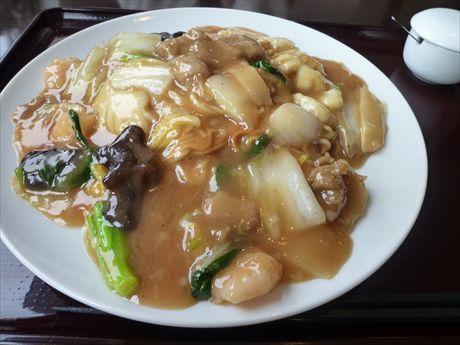 20140330 ③あんかけ焼きそばin中華レストラン ニーズ_R