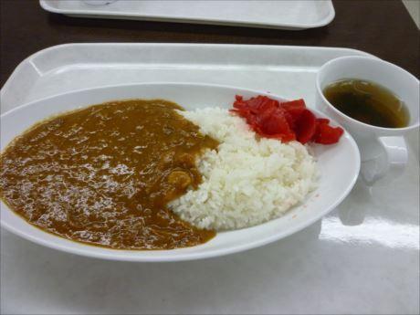 カレーライス(300円)in現金問屋内馬鹿値食堂 (1)_R_R