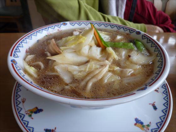 野菜と豚肉のタンメンin輝楽飯店_R