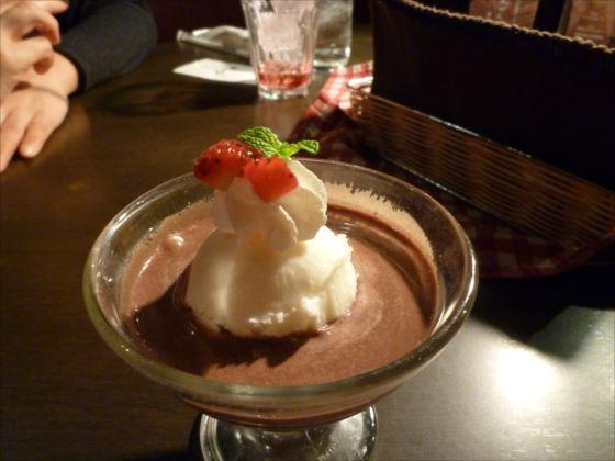 チョコレート白玉ぜんざいGAJAランチ (3)_R