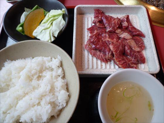 サガリランチ肉ダブルin五苑_R