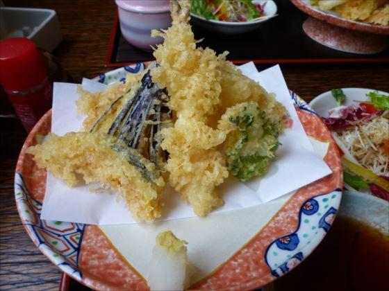 游人庵in天ぷら定食2_R