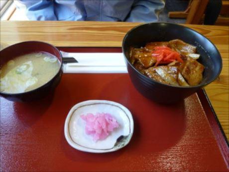 味噌豚丼in蘭越 街の茶屋_R_R