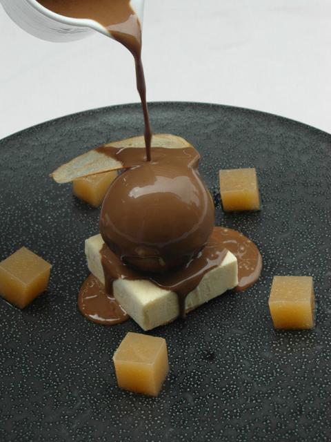 dessert poire