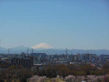 富士久々に