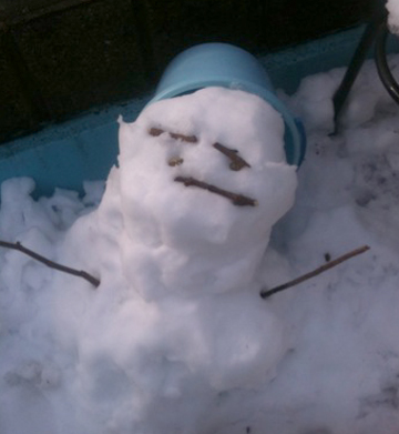 ぼくの雪だるま