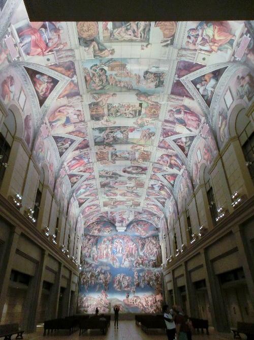 140928-大塚国際美術館①システィーナ礼拝堂-1