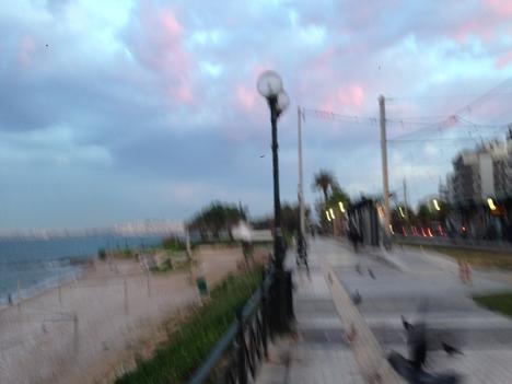 ギリシャ・アテネの海辺