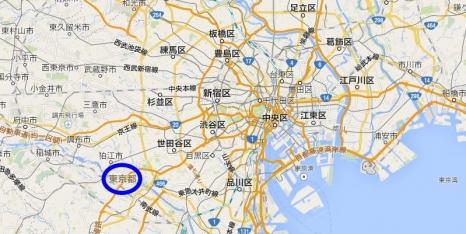 東京Google Map