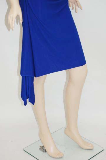 カシュクールホルター ミディアムドレス