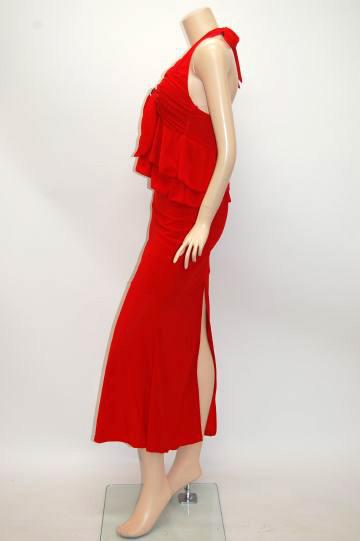 ラブリーフリル2P ロングドレス