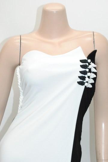 セクシースリットチャイナ ロングドレス