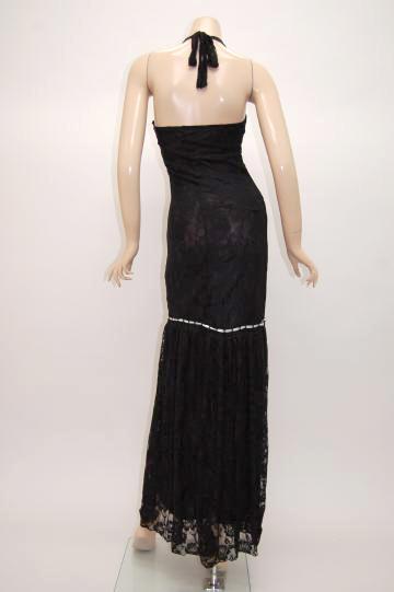 バラレース リボン嬢 ロングドレス