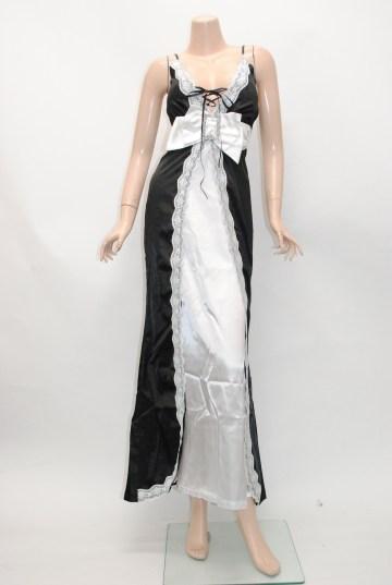 ロマンチック エンパイヤスタイル ロングドレス