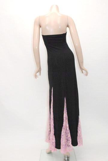 マーメイド風スレンダーライン ロングドレス