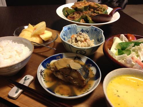 Aug05_あじの生姜煮