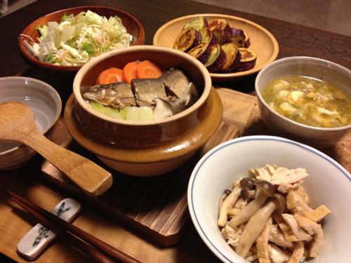 Sep11_鮎の甘露煮の釜めし