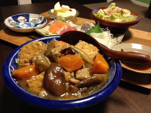Sep17_厚揚げと根菜のあんかけ煮