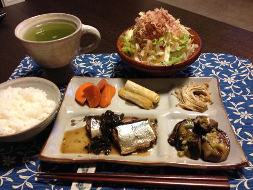 Oct02_さんまの生姜煮