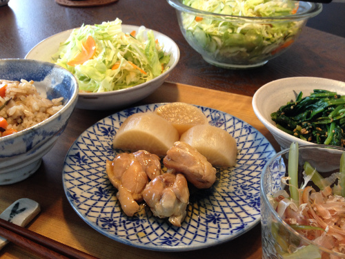 Oct07_鶏と大根煮