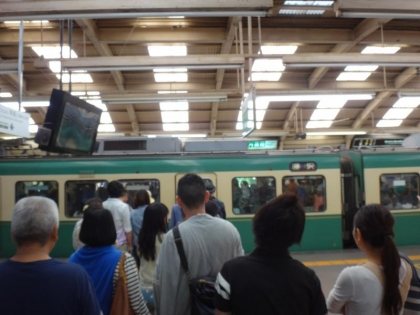 藤沢駅江ノ電乗り場