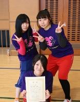 卓球女子優勝3年(久保・小林・古屋) (156x200)