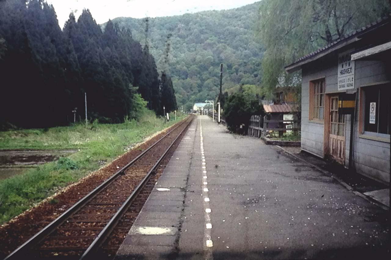 東下条駅新津方向