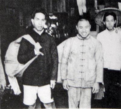 南京入城9 釈放されて故郷に帰る元中国人兵士