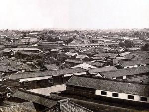1865年頃 江戸 町並み