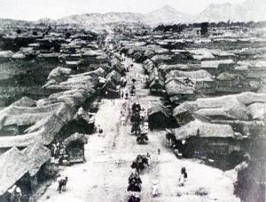1888年 ソウル 町並み