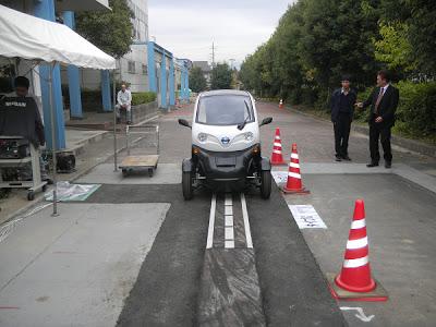 オンライン電気自動車用道路設備