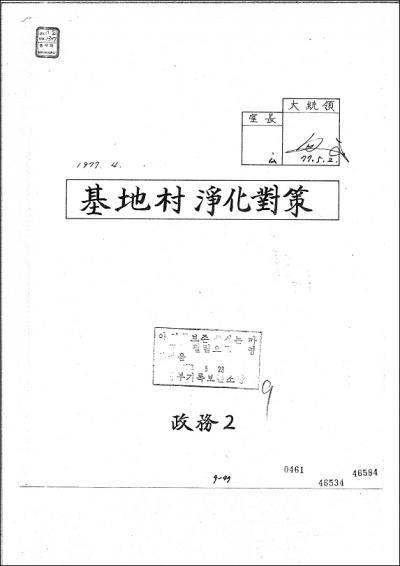 朴大統領 直筆サイン