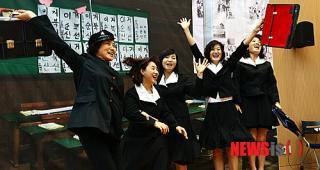 韓国 女学生 コスプレ1