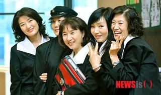 韓国 女学生 コスプレ2