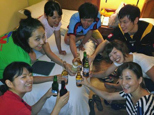 夜の酒盛りcc