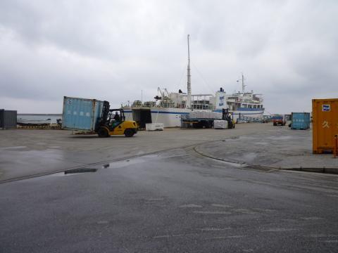 久米島港 (2)