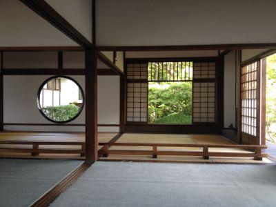 丸い「悟りの窓」と四角い「迷いの窓」(1)