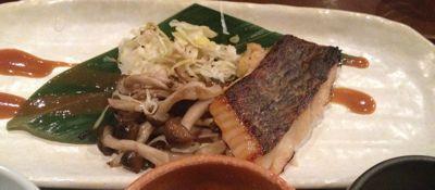 旬のお魚のオーブン焼き