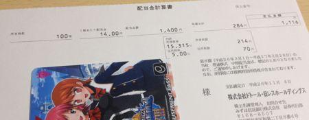 3087 ドトール・日レスHD 配当金