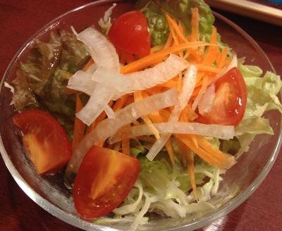 サラダセットのサラダ