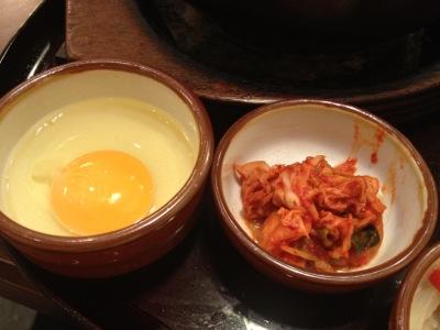 キムチ 生卵