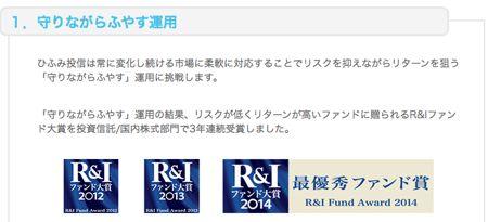 R&Iファンド大賞2014