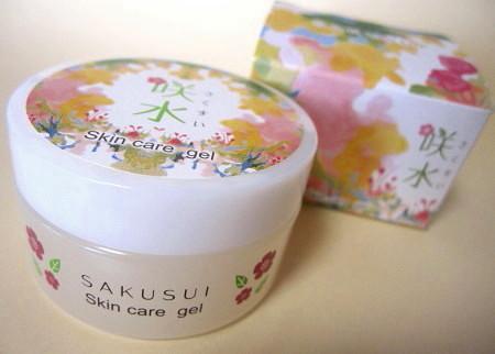 サクラン配合化粧品・咲水スキンケアジェル