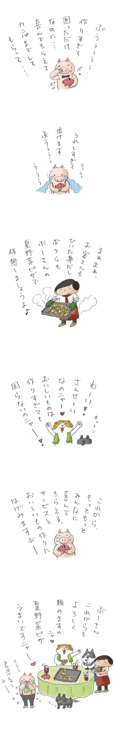 ぶーさんの夏野菜10